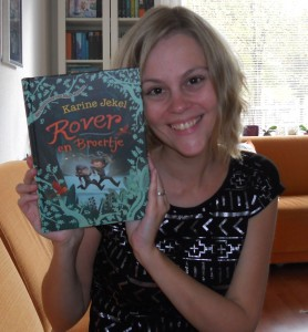 Rover en Broertje van Karine Jekel
