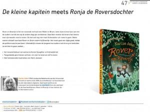 Rover en Broertje van Karine Jekel in aanbiedingsbrochure