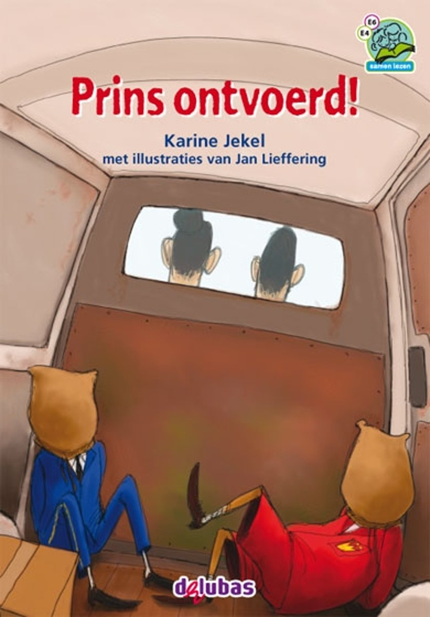 omslag kinderboek Prins ontvoerd van Karine Jekel