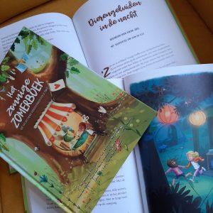 kinderboek voorleesboek zomer kamperen
